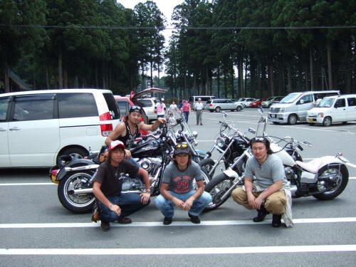 ハーレー 納車 翌日 栃木県 那須までツーリング
