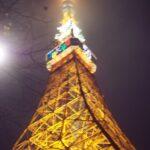 東京タワー イルミネーション 冬