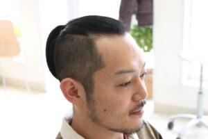 サムライヘア メンズ ツーブロックヘアスタイル
