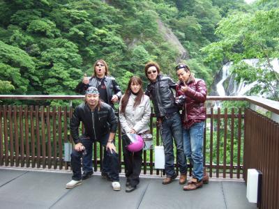 袋田の滝 新緑の季節 ハーレーツーリング