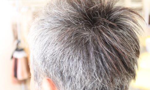 白髪は なぜ生える?「30代半ば頃から お客様の会話で よく耳にする 言葉」