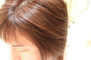 メンズヘアカラー 髪の流れが美しく見えます。