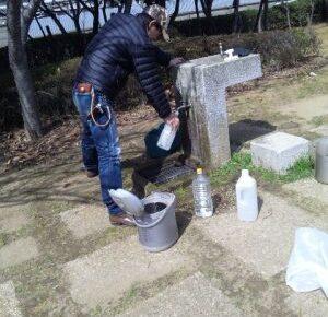 「大震災後の爪痕」 生活に関してすべて不自由 断水 停電