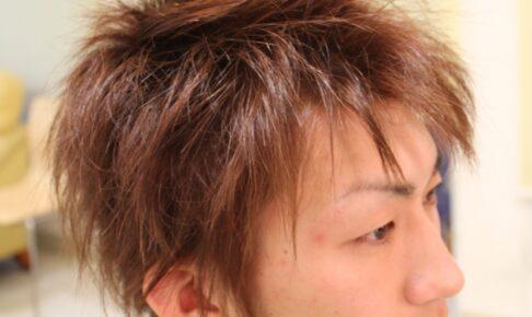メンズ ヘア 「硬毛な髪質を どう柔らかく見せるか?」3D カット
