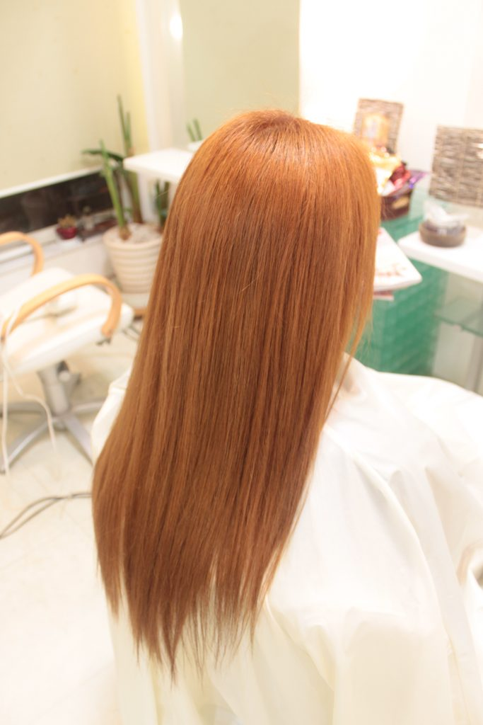 ナチュラル ヘナ 「髪に優しい天然もの その効果は」