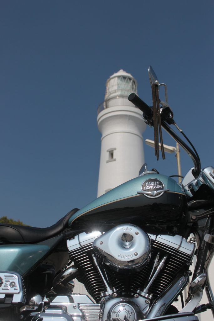 犬吠埼灯台 ハーレー で 走る オレの田舎