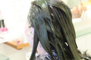 ヘナとブライダル 「髪のコンディションを整えます」