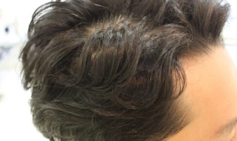 メンズ パーマ GMT 使用 「髪質は軟毛で ねこっ毛」有効的か?