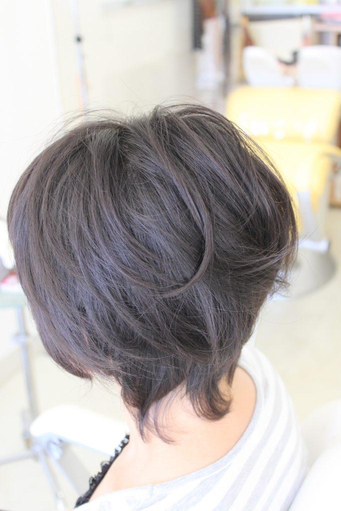 「ナチュラルヘア」 乾かす程度で ブローなし 楽ちんヘアスタイル