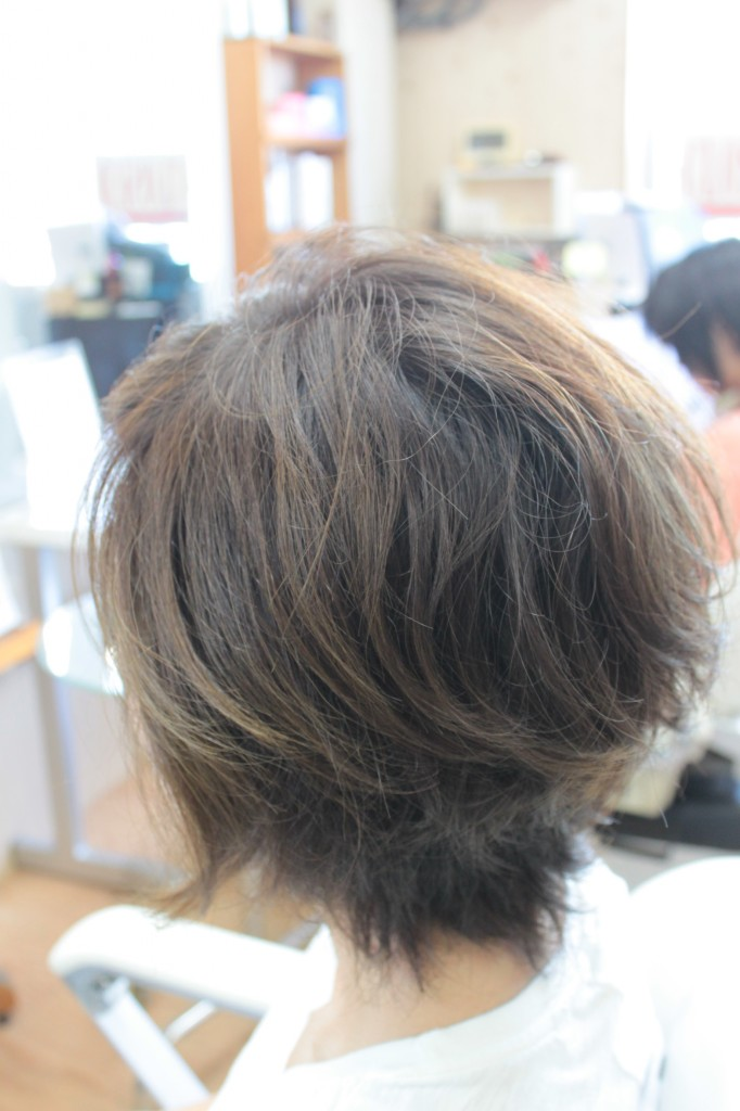 クセ毛 その人の持つ素材感を上手く引き出しましょう
