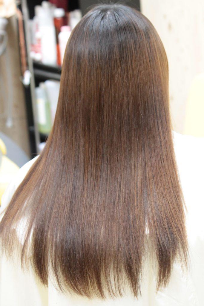 補修剤 縮毛矯正 「細毛 で 軟毛 な 毛質」