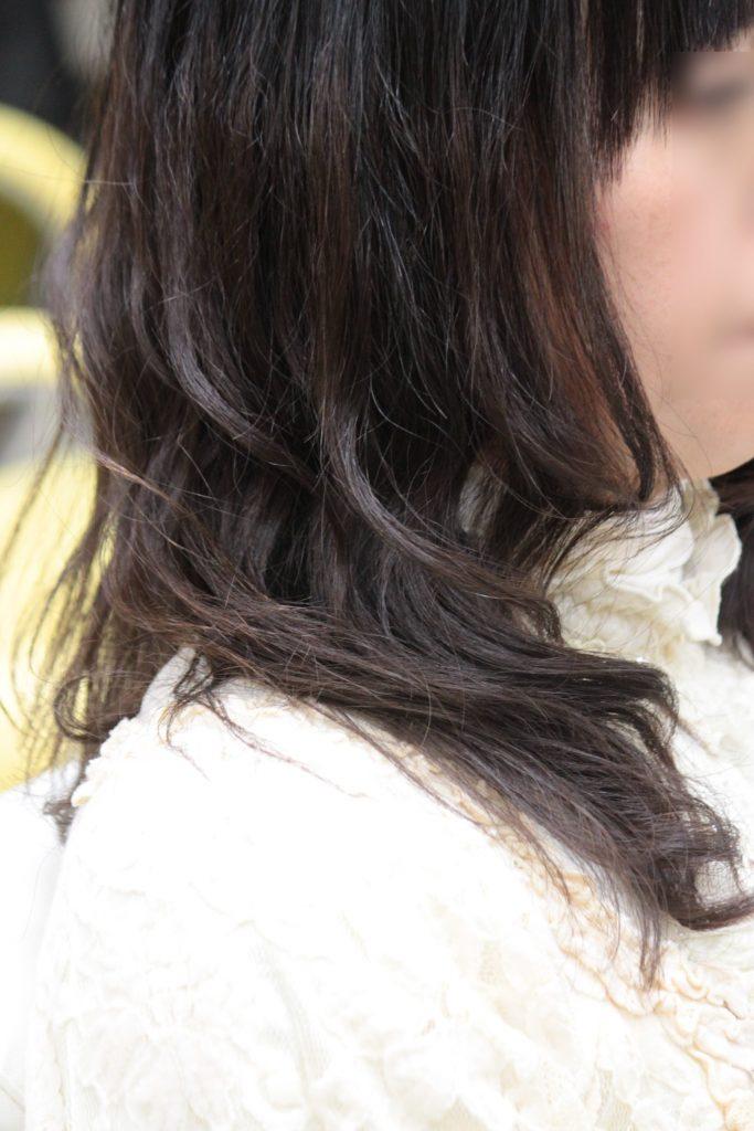 アルカリ縮毛矯正 デジクリパーマ コラボ