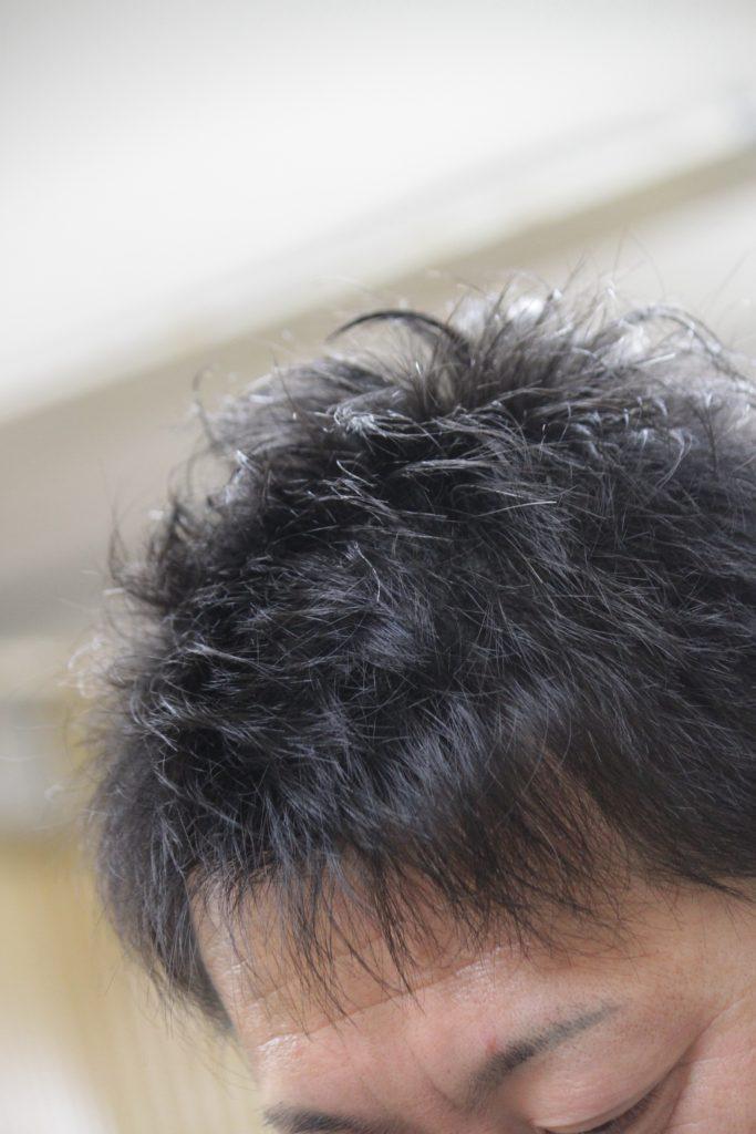 毛先を書道に例えてみると メンズヘア