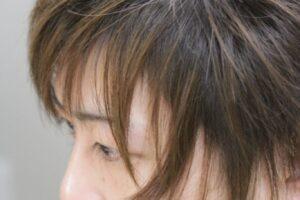 中性的な ヘアスタイル メンズヘア