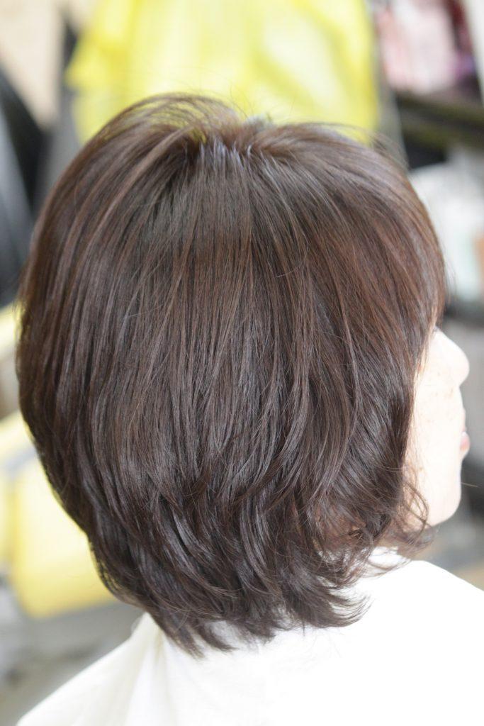 酵素水A‐quaを使用した髪