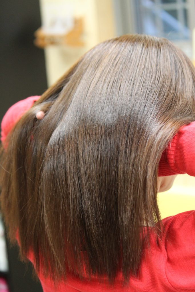イチゴクリアカラー ASH 「日本で 一番 白髪染めが明るく入る イチゴカラー」