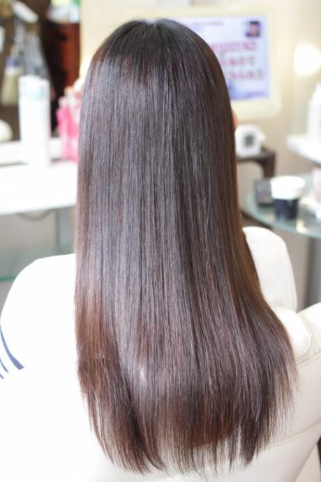 マレイン酸 ポリマー 処理剤を使用した サルファイト縮毛矯正